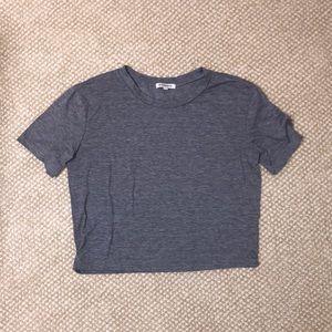 💜 3/25$ Grey T-Shirt by Glamorous Clothing